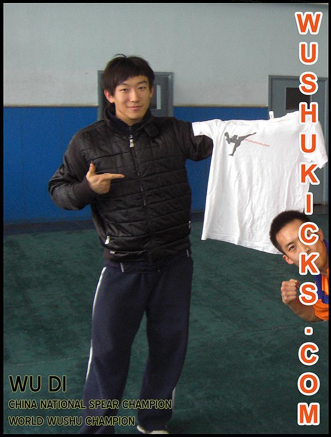 Wu Di Wushu Champion