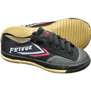 Feiyue Lo Top Wushu Shoes (Black)