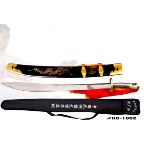 steel handle wushu broadsword