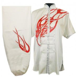Silk Uniforms (White with Red Eagle)